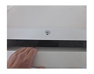 機密書類の逆流を防ぐ投入口